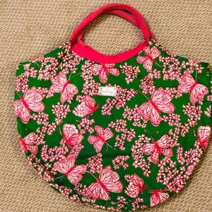 Lilly Pulitzer Pink/Green Beach Bag